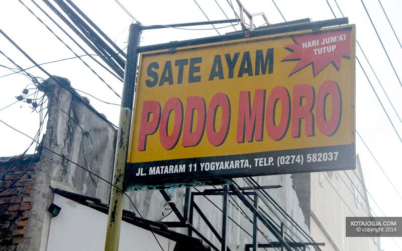 Sate Ayam Podomoro