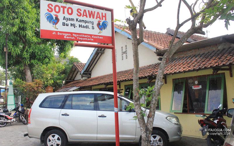 Soto Sawah Bu Hadi