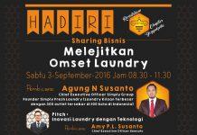 Seminar Melejitkan Omset Laundry