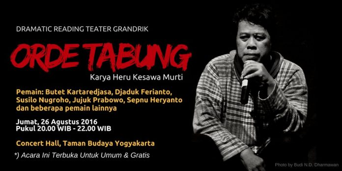 dramatic reading teater gandrik