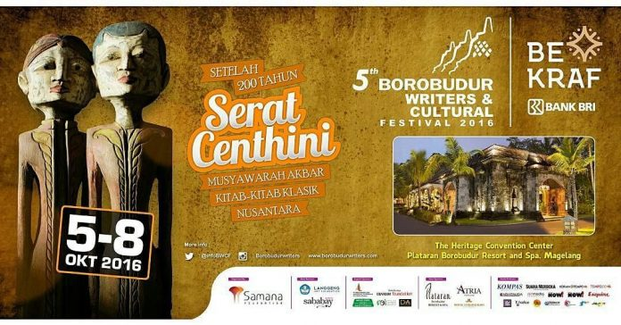5th Borobudur Writers And Cultural Festival