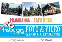 Prambanan ratu boko instagram contest