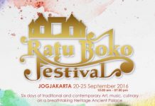 ratu boko festival