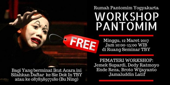 Workshop Pantomim