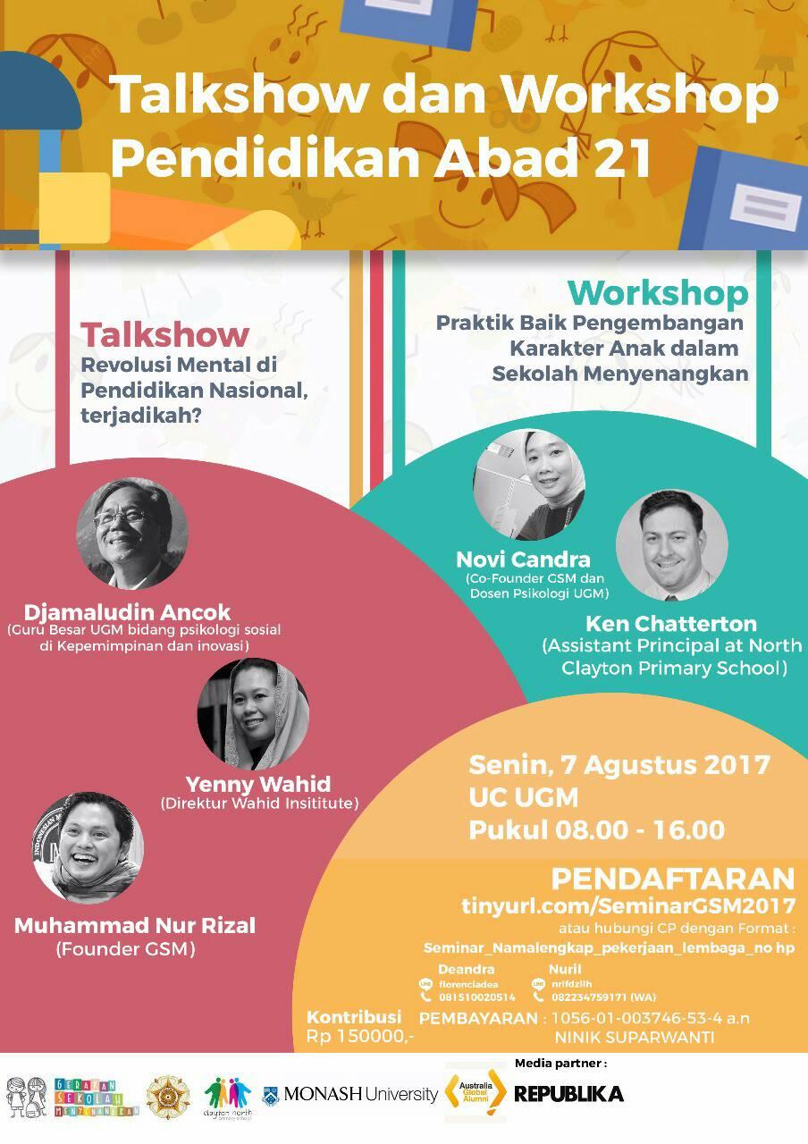 first image of Telkom Gelar Talkshow Workshop Dan Pagelaran Seni with Talkshow dan Workshop Pendidikan Abad 21 - kotajogja.com