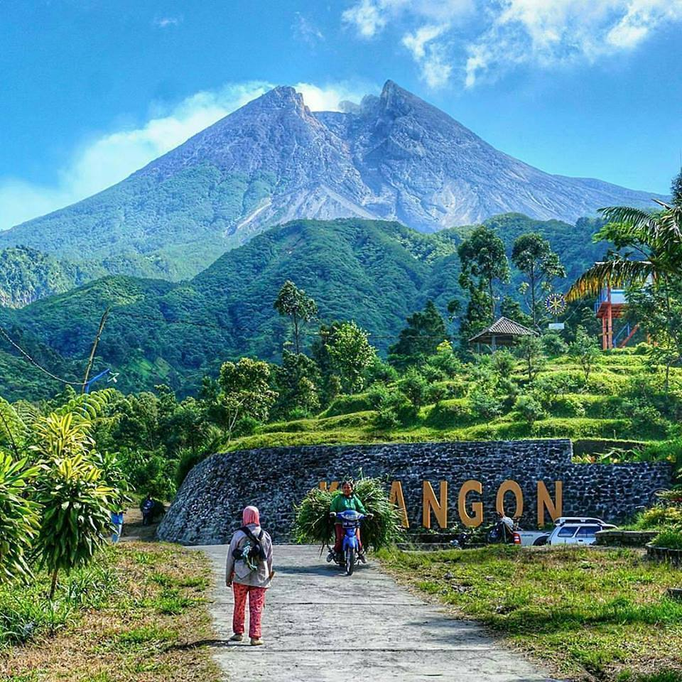 Gunung Merapi dan Bukit Klangon - kotajogja.com