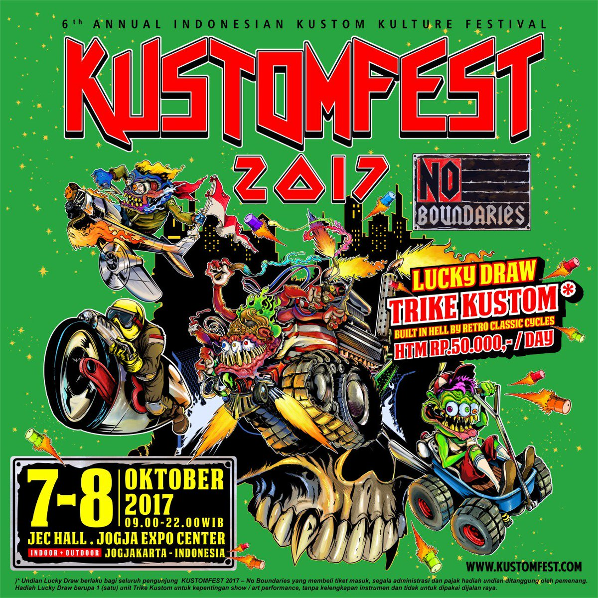Jogja Kustomfest 2017 - kotajogja.com Images may be subject to copyright. Learn More Related images