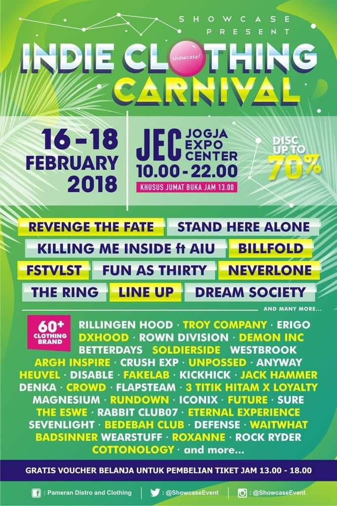 Indie Clothing Carnival