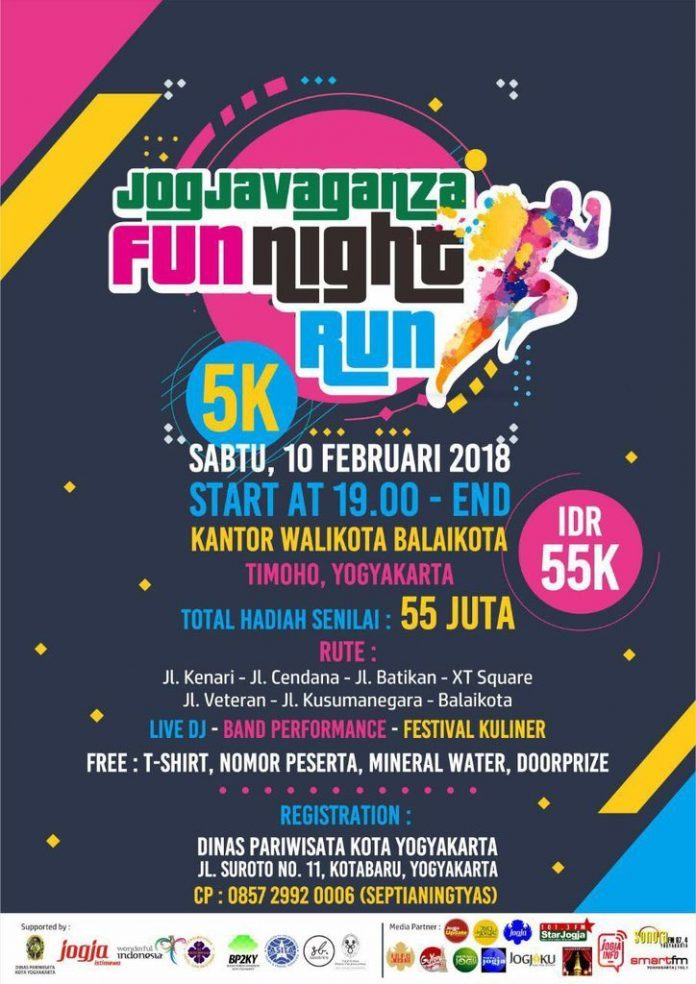 Jogjavaganza Fun Night Run