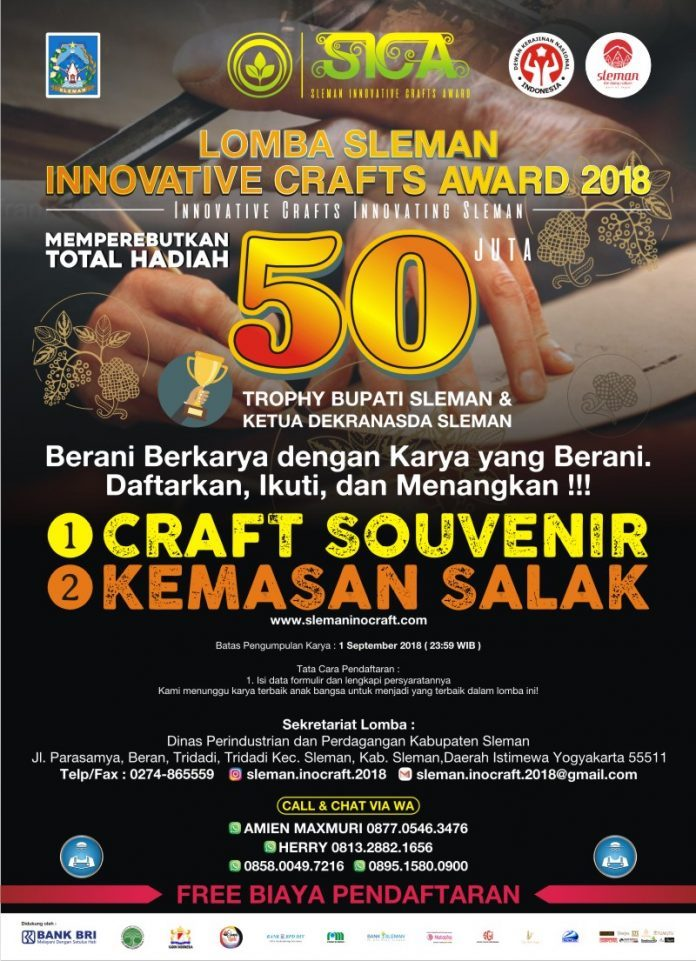 Sleman Innovative Crafts Award