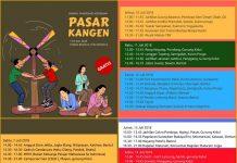 Jadwal Panggung Kesenian Pasar Kangen