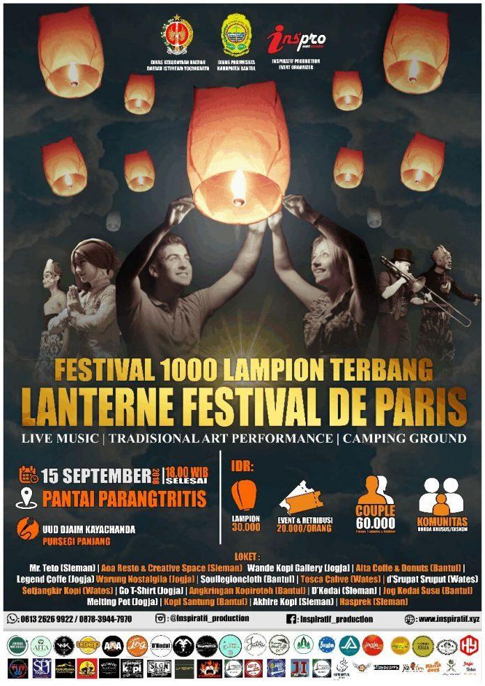 festival 1000 lampion terbang