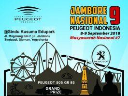 Jambore Nasional Peugeot Indonesia