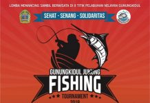 Gunungkidul Jukung Fishing Tournament