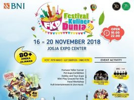 Festival Kuliner Dunia 2018