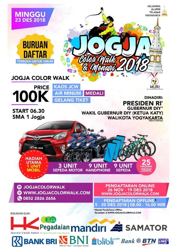 Jogja Color Walk