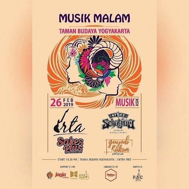 Musik Malam Taman Budaya Yogyakarta