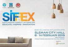 Sleman Innovative Furnicraft and Fashion Expo