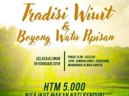 Tradisi Wiwit & Boyong Watu Pipisan