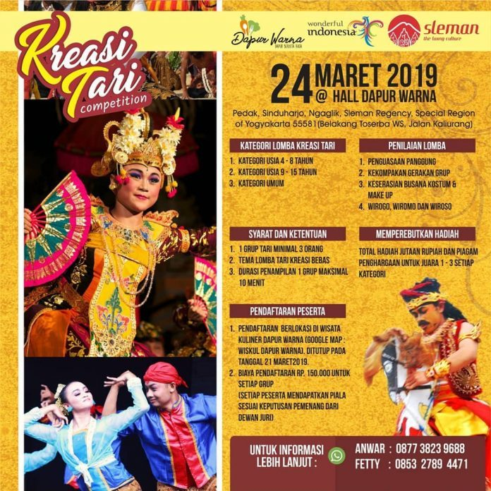 Kreasi Tari Competition