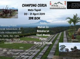 Camping Ceria April 2019