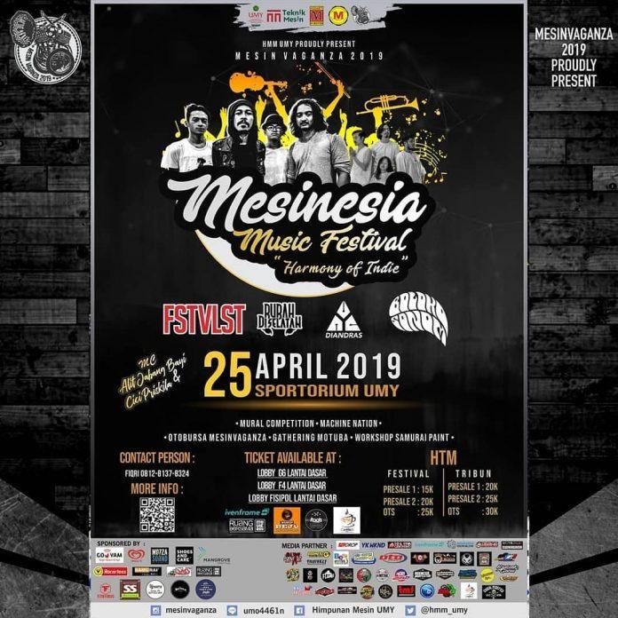 "Mesinesia Music Festival ""Harmony of Indie"""