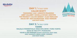 Prambanan Jazz#5  2019
