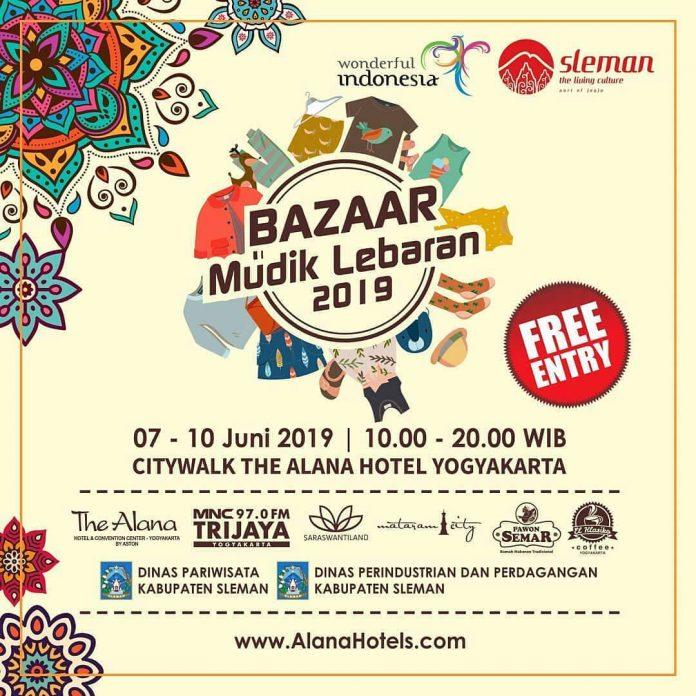 Bazar Mudik Lebaran 2019