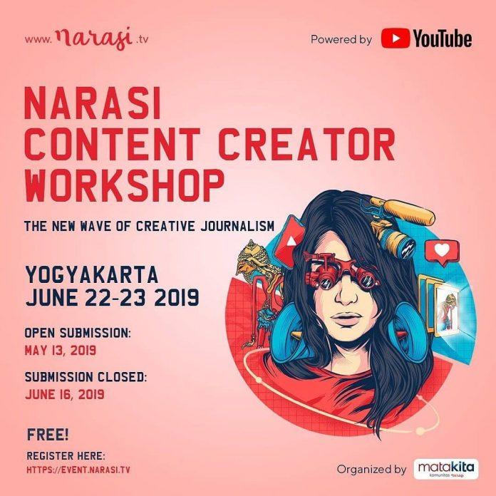 Narasi Content Creative Workshop