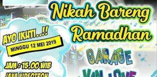 """Nikah Bareng Ramadhan """"Garage Van Love"""""""