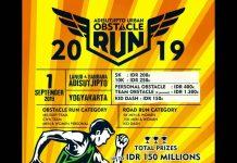 Adisutjipto Urban Obstacle Run 2019