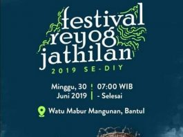 Festival Reyog Jathilan se-DIY 2019