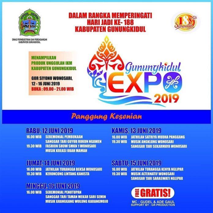 Gunungkidul Expo 2019