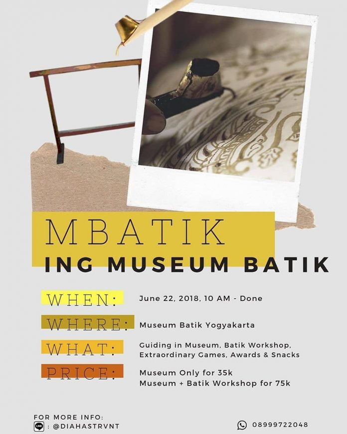 Mbatik Ing Museum Batik