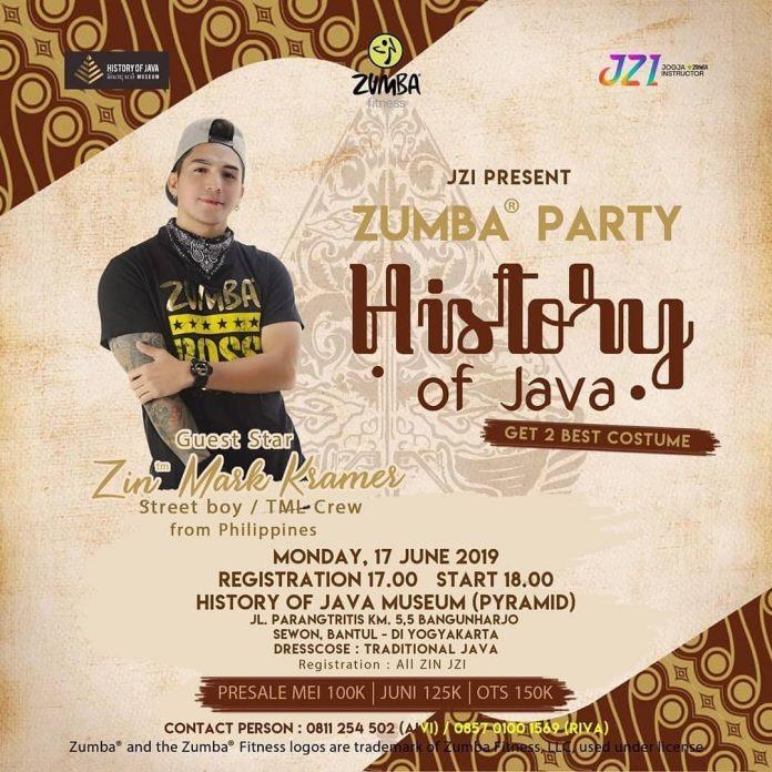 Zumba Party History of Java