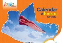 Agenda Event Wisata Juli 2019