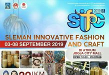 Sleman Innovative Fashion and Craft