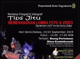 Workshop Fotografi dan Videografi