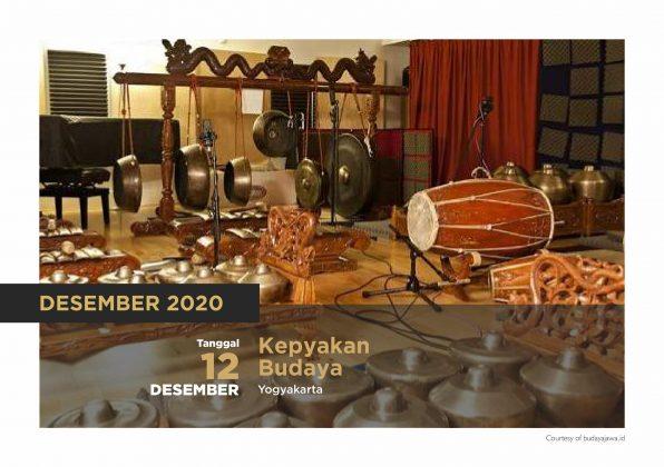 Kalender Agenda Budaya DIY tahun 2020