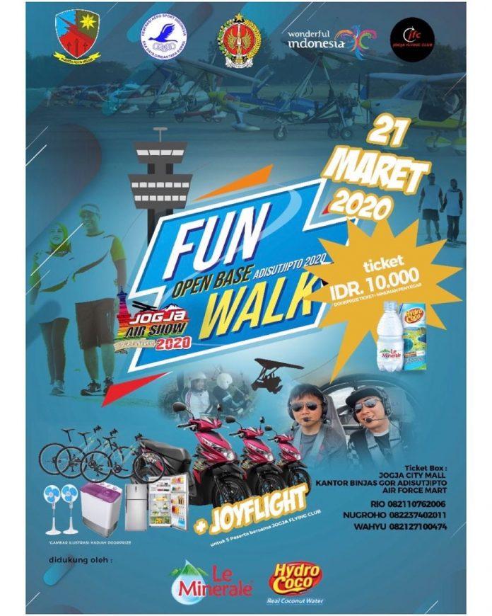 Fun Walk Open Base Adisutjipto