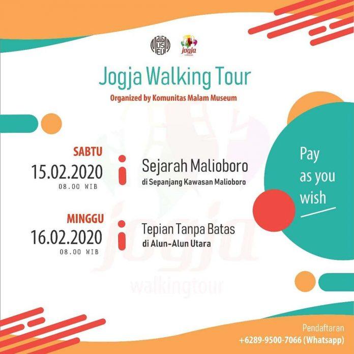 jogja walking tour