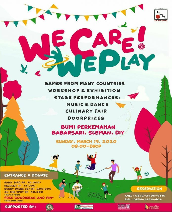 We Care! We Play
