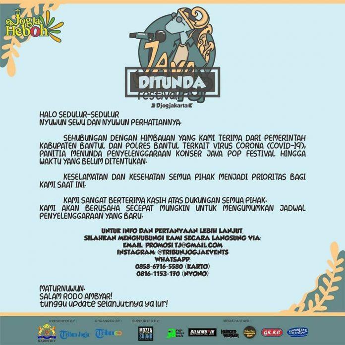 Penundaan Java Pop Festival