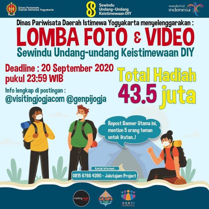 Lomba Foto & Video Sewindu Undang-undang Keistimewan DIY