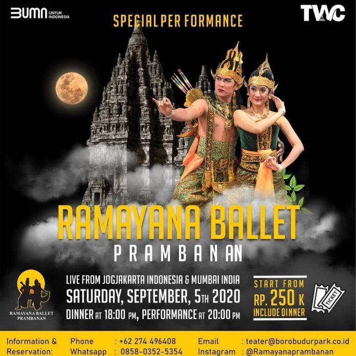 Pertunjukan Tari Ramayana