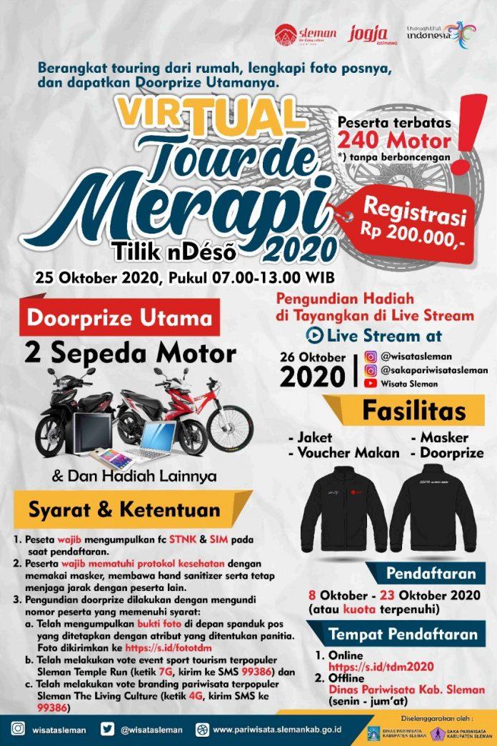 Virtual Tour De Merapi 2020