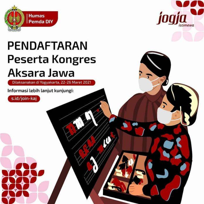 Pendaftaran Kongres Aksara Jawa